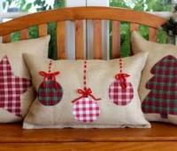 Modelos de almohadas navideñas