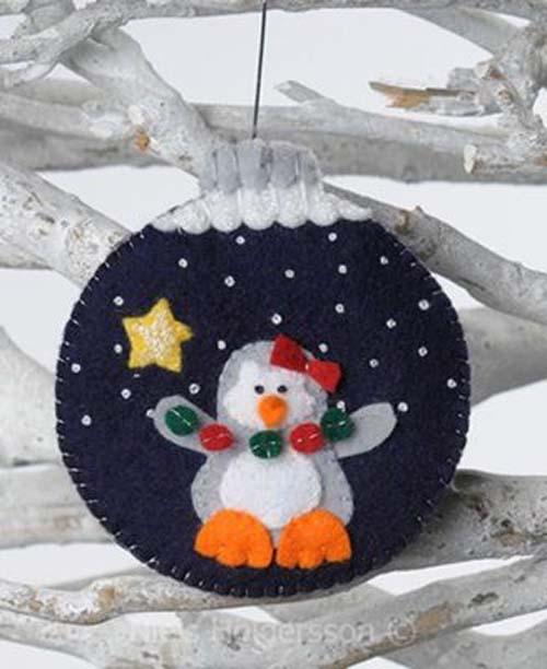 Molde para hacer esferas navideñas de fieltro01