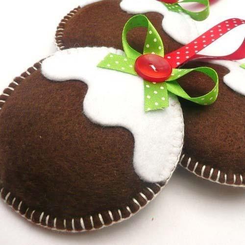 Molde para hacer esferas navide as de fieltro - Cosas navidenas para hacer en casa faciles ...