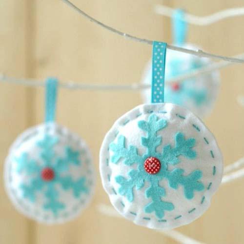 Molde para hacer esferas navideñas de fieltro05