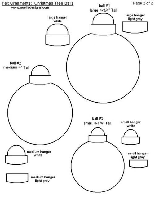 Molde para hacer esferas navideñas de fieltro07