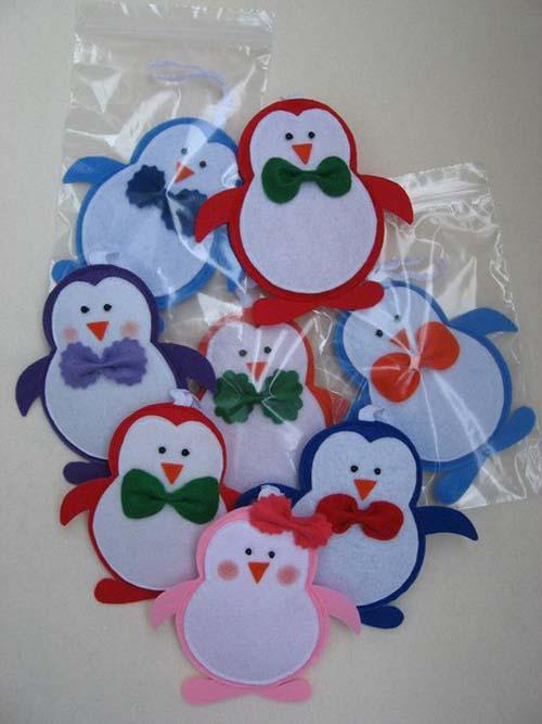 Moldes de muñecos navideños en fieltro01