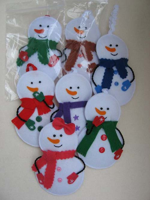Moldes de muñecos navideños en fieltro05