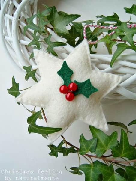 Moldes estrellas navideñas en fieltro04