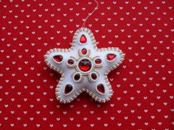 Moldes estrellas navideñas en fieltro08