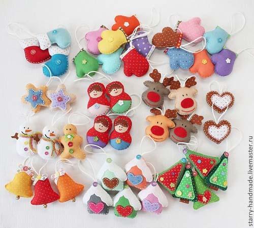 Moldes gratis de figuras navideñas en fieltro09