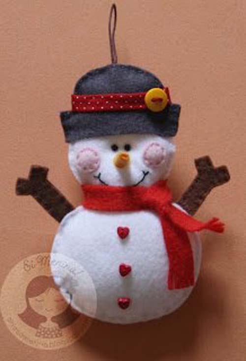 Moldes para hacer colgantes navide os con fieltro for Colgantes para arbol de navidad