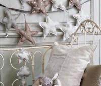 Moldes para hacer estrellas navideñas de tela gratis