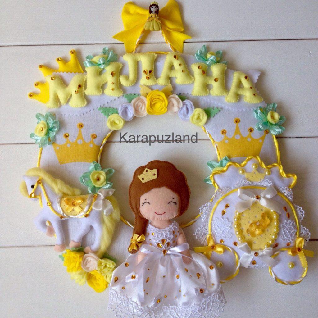Moldes para hacer princesas de fieltro o tela01