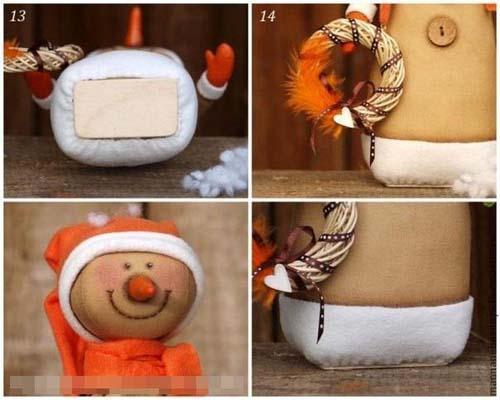 Muñeco navideño de tela paso a paso04