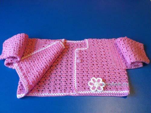 Patron de vestido tejido a crochet para bebe de 0 a 18 meses07