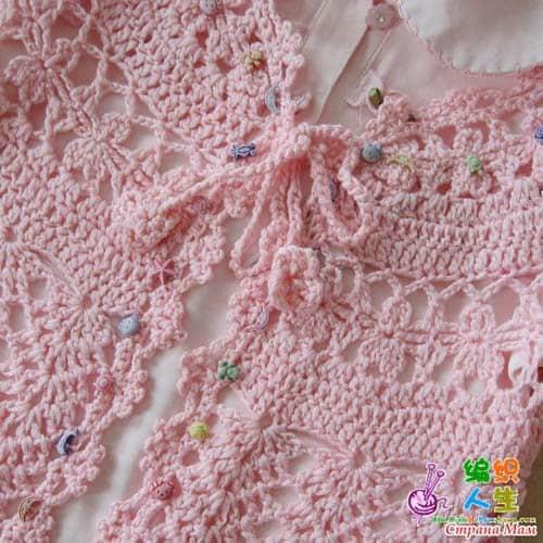 Bonito Bolero Patrón De Crochet Festooning - Ideas de Patrón de ...