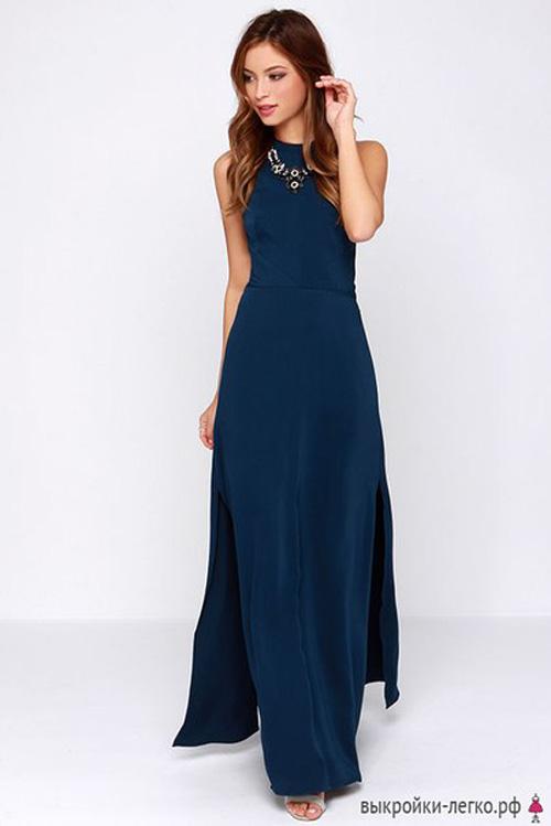 Patron gratis de un vestido elegante hermoso02