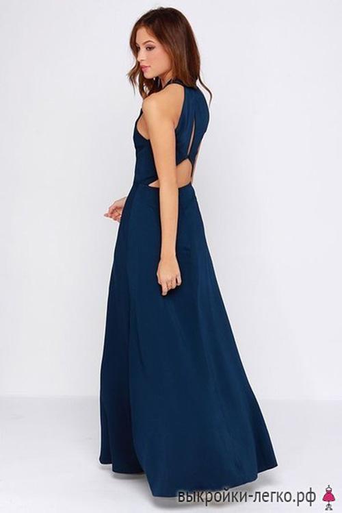 Patron gratis de un vestido elegante hermoso03