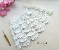 Patron para hacer un conjunto tejido a crochet para niña