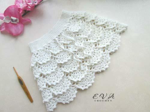Patron para hacer un conjunto tejido a crochet para niña01