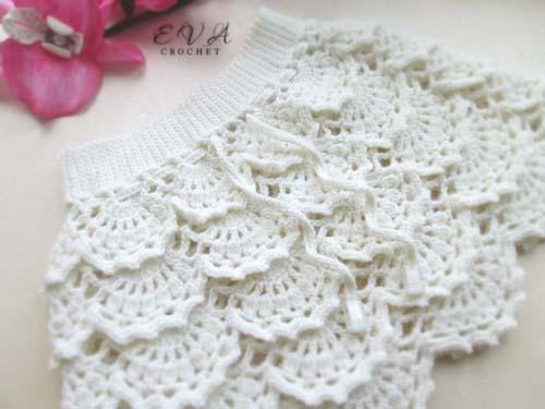 Patron para hacer un conjunto tejido a crochet para niña02