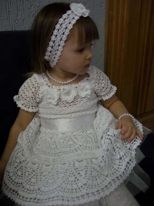 Patron para hacer un vestido de niña a crochet05