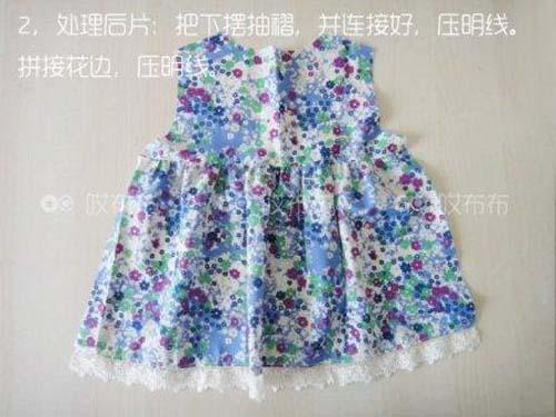 Patron para hacer una blusa para niña gratis01
