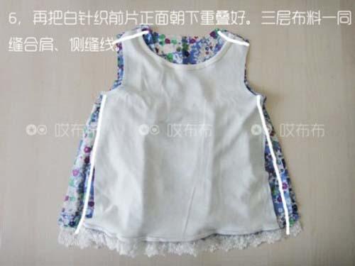 Patron para hacer una blusa para niña gratis02
