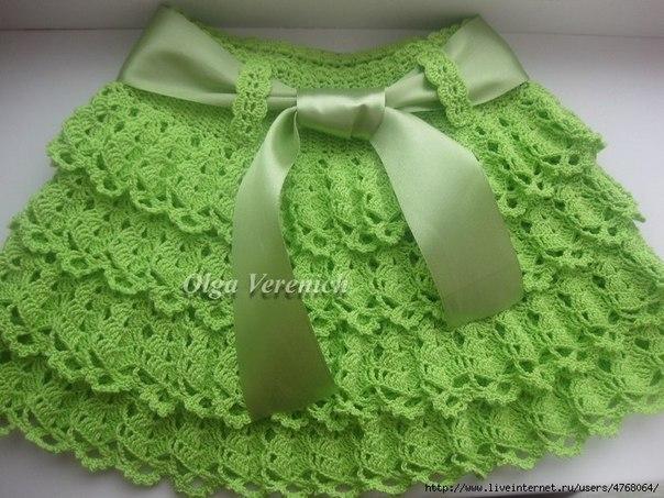Patron para hacer una falda tejida a crochet para niña03