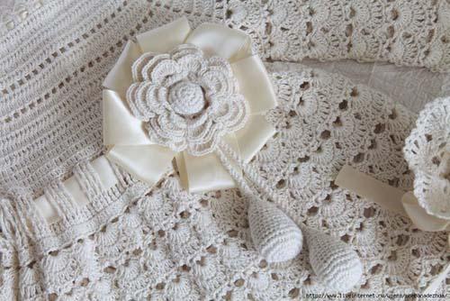 Patron para tejer un ropon a crochet para bebe04