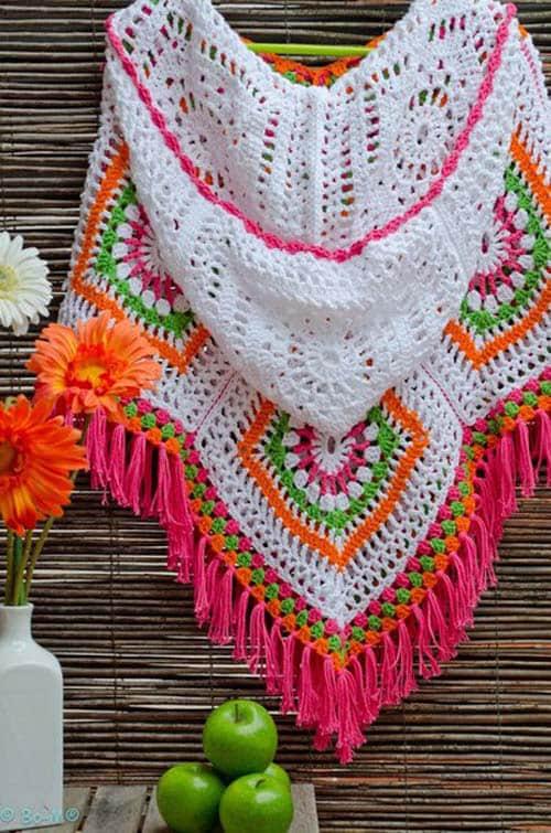 Patron ponchos juveniles tejidos a crochet04