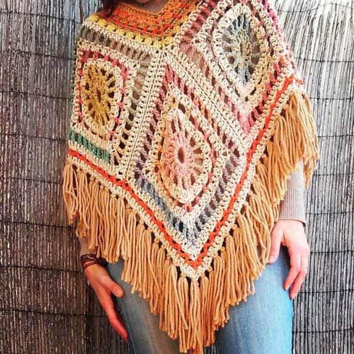 Patron ponchos juveniles tejidos a crochet05