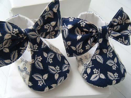 Patrones para hacer zapatitos de tela para bebe02
