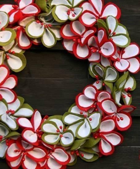 Adornos para puerta de navidad (1)