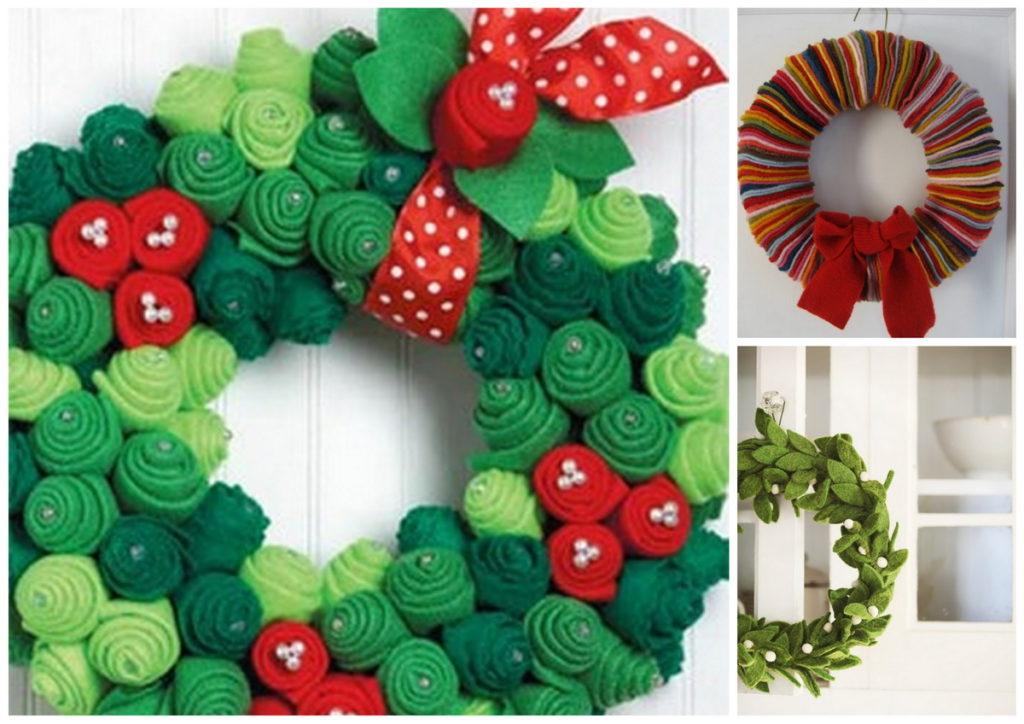 adornos para puerta de navidad con moldes gratis On adorno puerta navidad