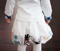 Cómo hacer una falda de burbuja sin frunce o pliegue