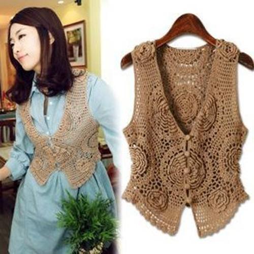 Chalecos tejidos a crochet para mujer09