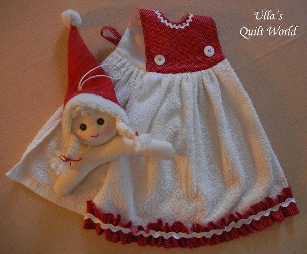 Como decorar toallas de baño para navidad07