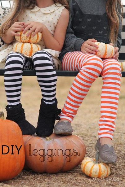 Como hacer leggings para niñas paso a paso06