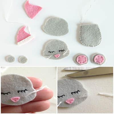 Como hacer ratones navideños con moldes05