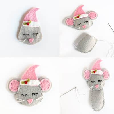 Como hacer ratones navideños con moldes06