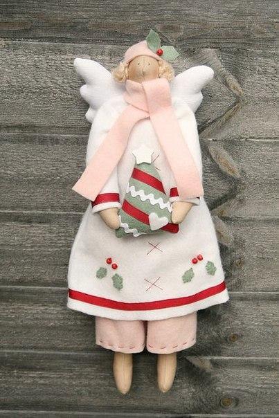 Como hacer un angel de tela con moldes01