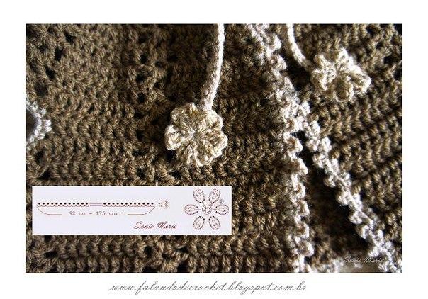 Como hacer un chaleco tejido a crochet para bebe02
