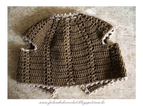 Como hacer un chaleco tejido a crochet para bebe04