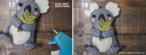 Como hacer un koala de fieltro paso a paso02