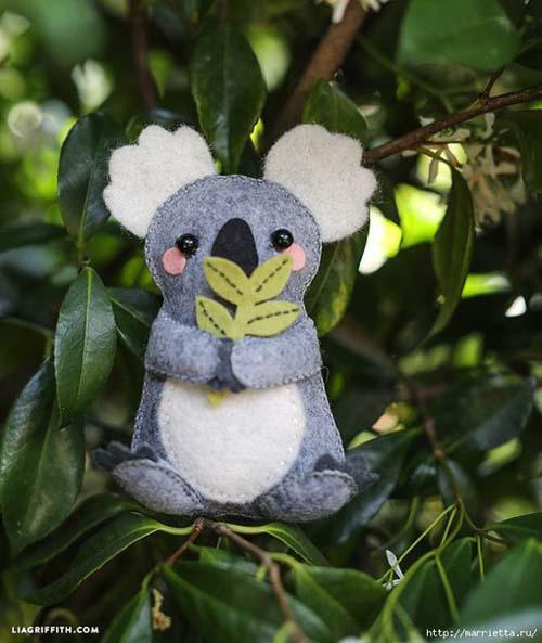 Como hacer un koala de fieltro paso a paso03