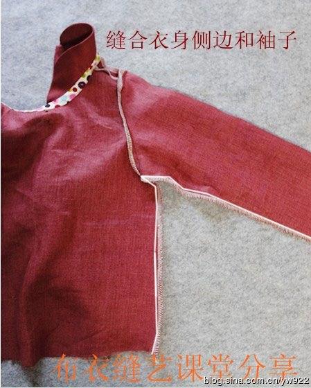 Como hacer una blusa con cuello peter pan para niñas04