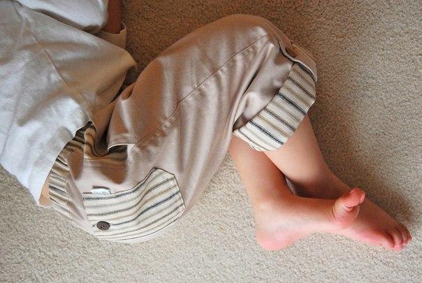 Como hacer unos pantalones para niños06