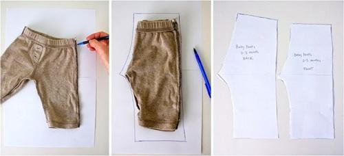 Como sacar el patron para pantalones para niños (8)