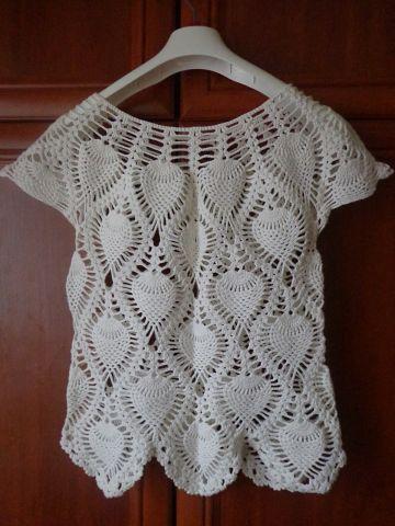 Como tejer una blusa a crochet para dama