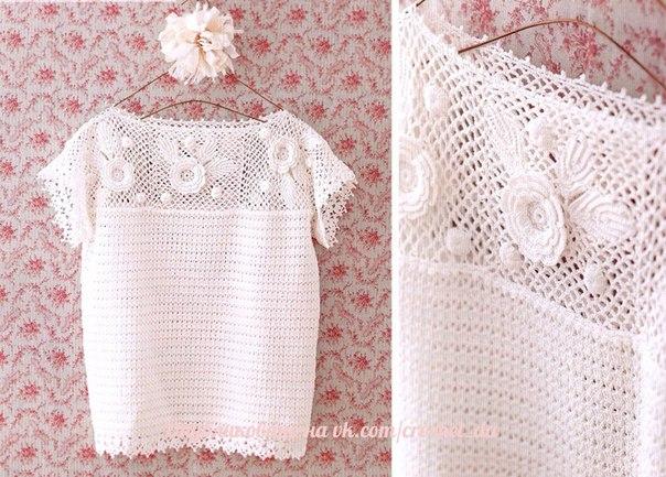 Como tejer una blusa a crochet para dama01