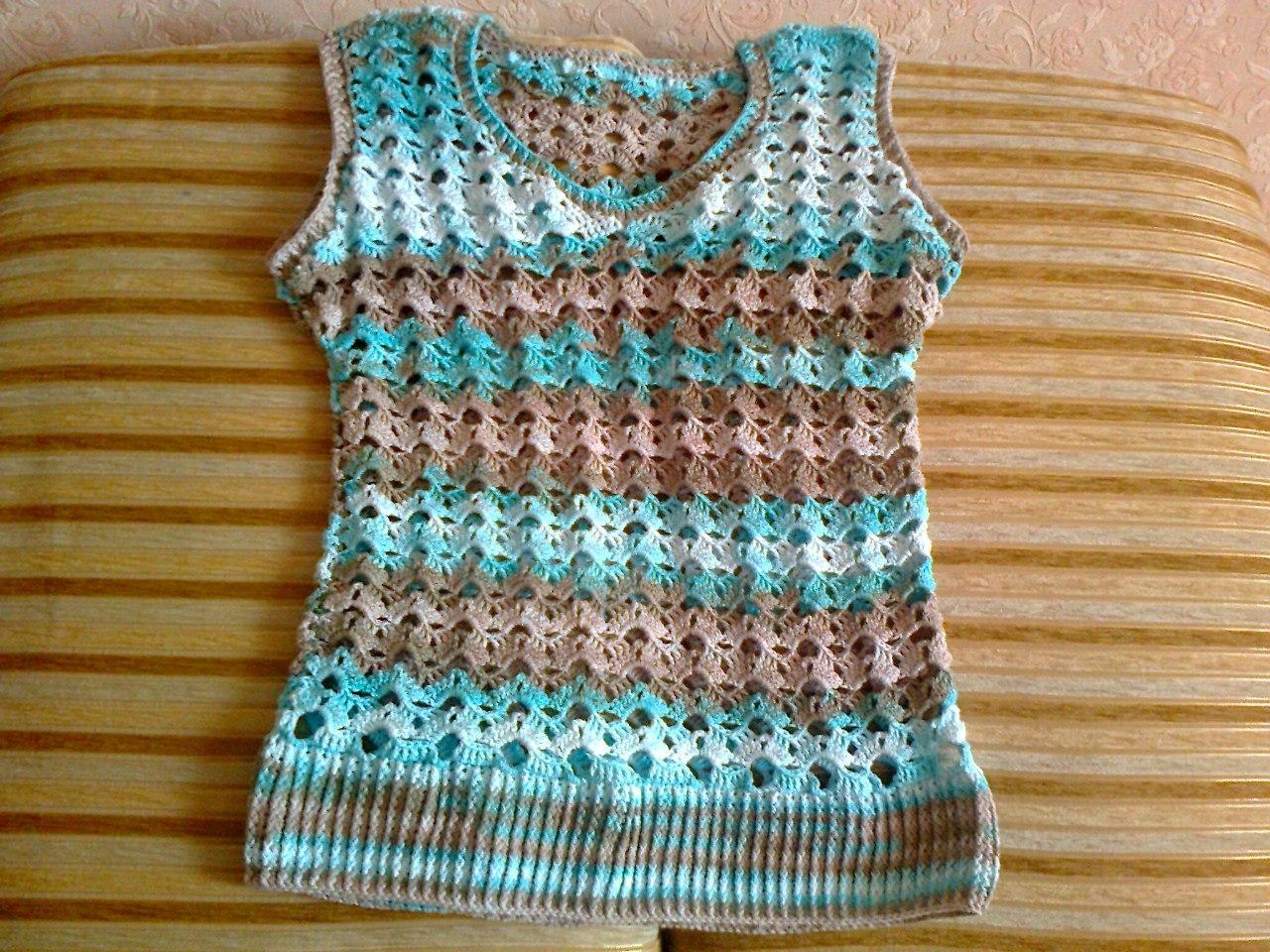ideas para tejer una blusa a crochet para dama