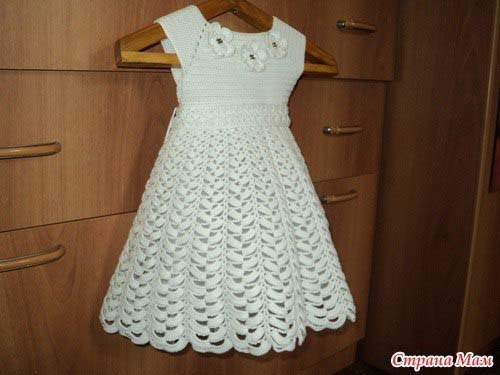 Esquema para hacer un vestido para ni as a crochet for Para desarrollar un parque ajardinado