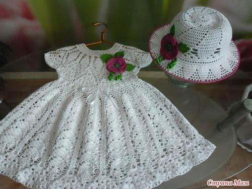 Esquema para tejer vestidos para niñas a crochet05